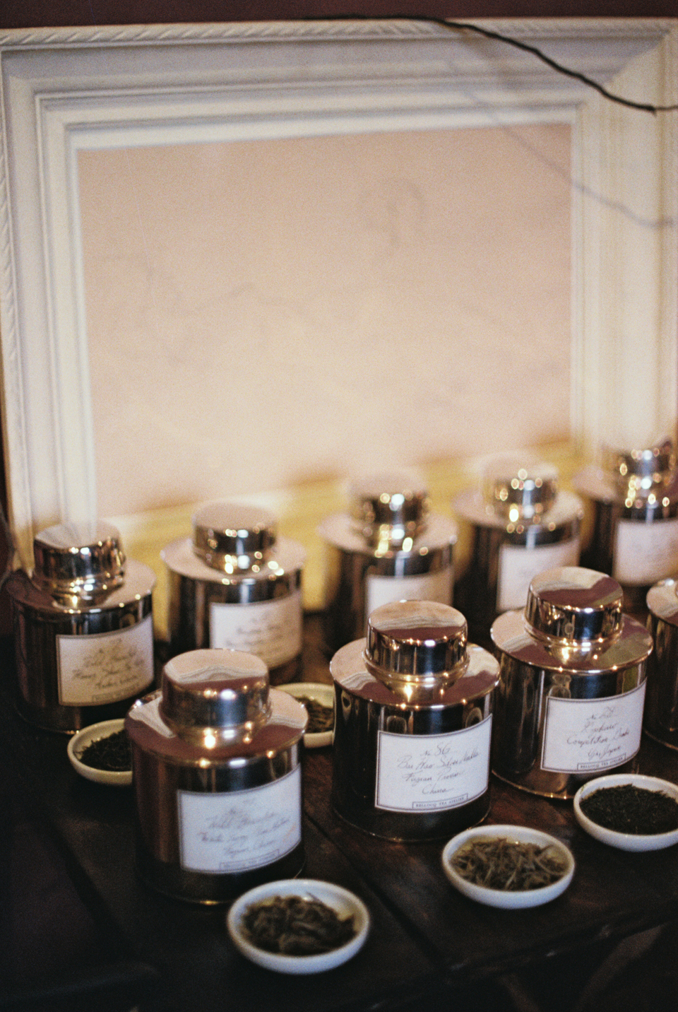 Bellocq rare tea collection